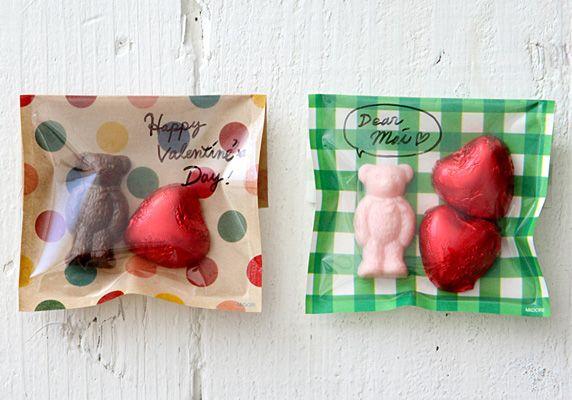 ブログ ハッピーバレンタイン簡単ラッピング|オリガミオリガミ
