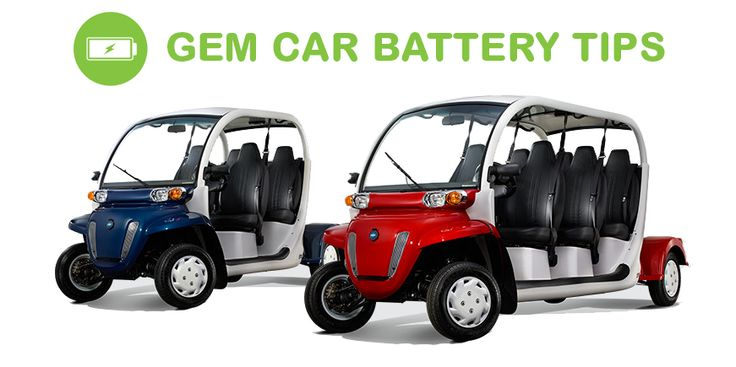 Your GEM car battery is the most important part of your GEM car, without a working battery you can't get very far. Most batteries have a 5-7 year lifespan if taken care of properly, so how can you improve the lifespan of your GEM car battery?