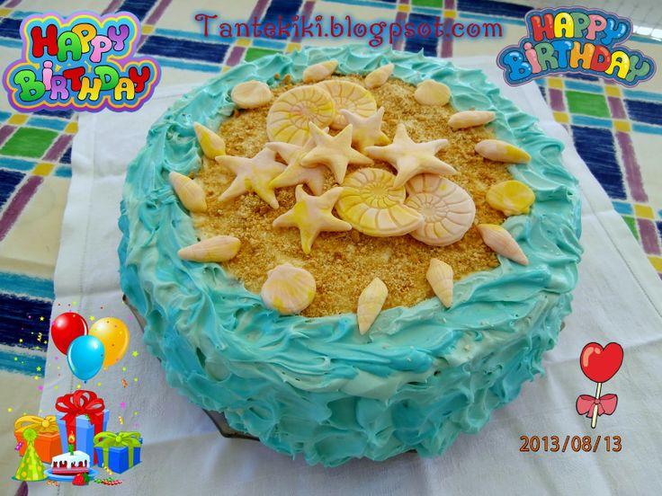 - Birthday summer cake by Tante Kiki