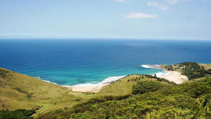 Hike along the coast in the Royal National Park, the world's second oldest national park, just south of Sydney, NSW.