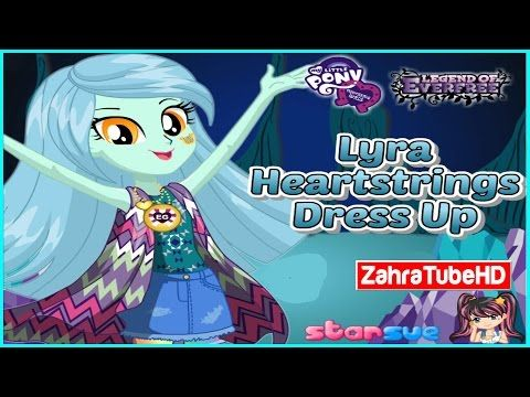 MLPEG   Legend of Everfree Lyra Heartstrings   Dress Up Game   ZahraTubeHD