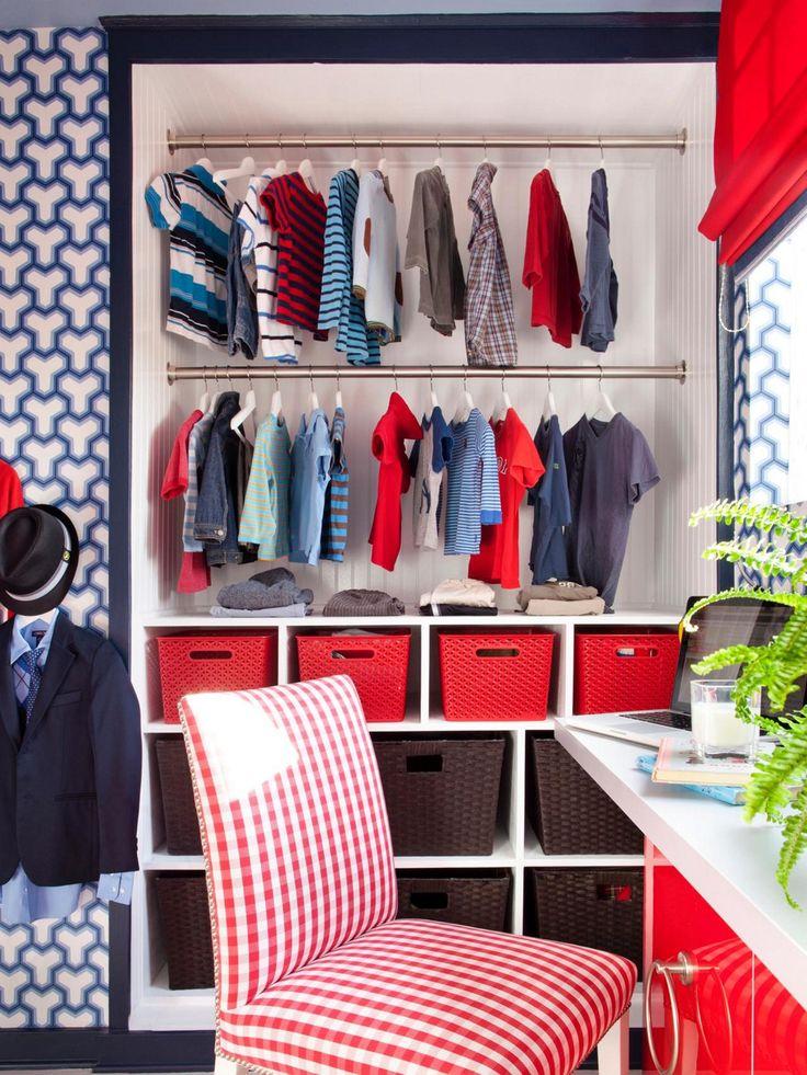 Top Kids Clothes Storage Ideas