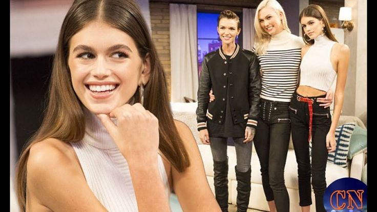 Model friends! Kaia Gerber joins Ruby Rose for new TV show Movie Night W...