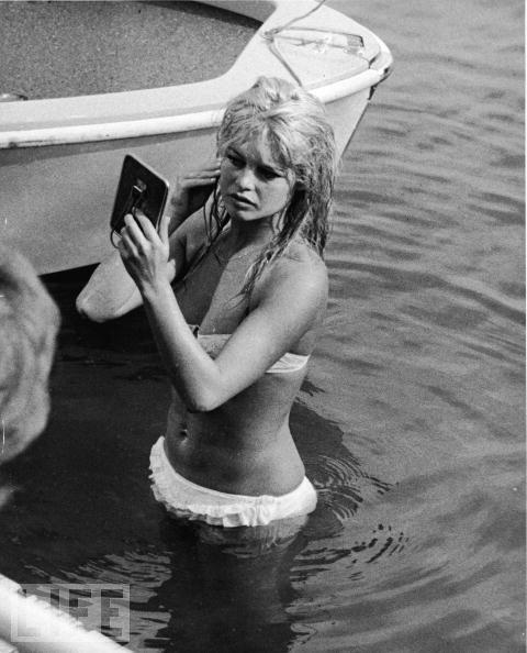 Lady of the Lake (1961)Actresses Brigitte, Brigitte Bardot Beach, Vintage, Beautiful, Style Icons, Brigette Bardot, Bardot 1961Name, Brigittebardot, Bardot Bikinis