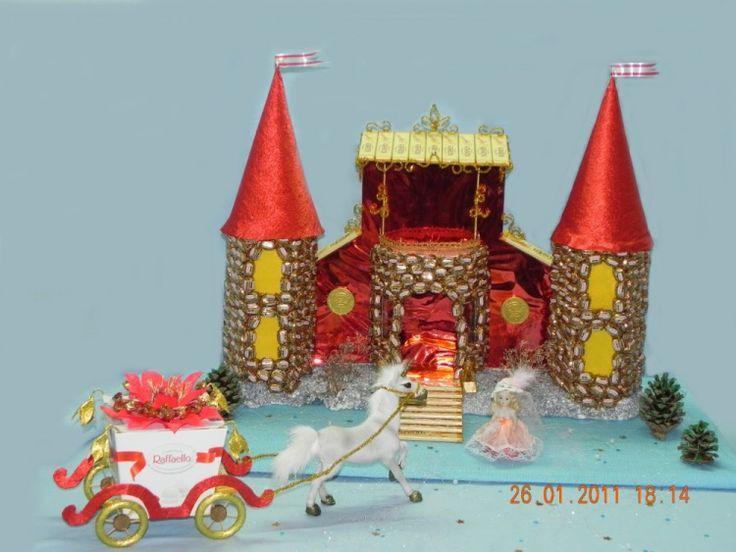 (6) Gallery.ru / Волшебный замок детства - Скульптурные букеты - volka-kafa
