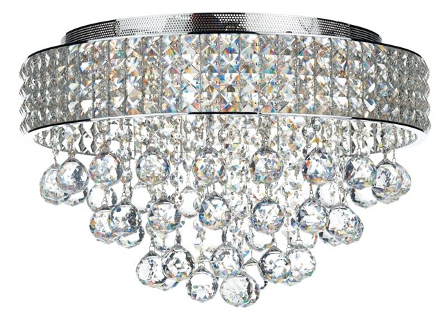 Ball shapes ceiling chandelier available at Springlights Hillcrest, Durban. www.springlights.net