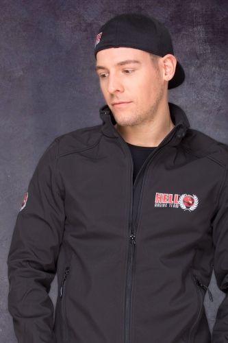 HRT Men Jacket Front in Black