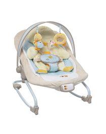 Cadeira de baloiço para a criança, com colchão amovível em forma de pato com ...