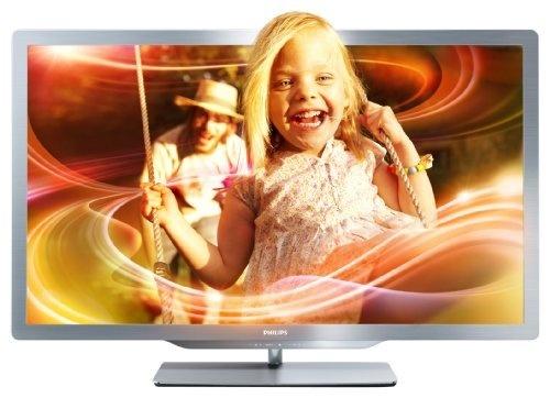 Philips 55PFL7606K/02 140 cm (55 Zoll) Ambilight 3D LED-Backlight-Fernseher, EEK A+ (Full-HD, 400 Hz PMR, DVB-T/C/S, Smart TV) silbergrau von Philips, http://www.amazon.de/dp/B0053TG74Q/ref=cm_sw_r_pi_dp_kN9Drb14H6RG6
