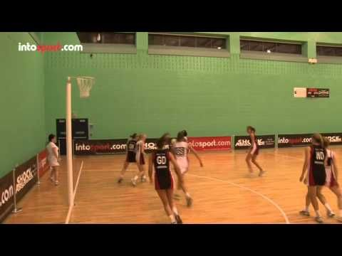 Netball Skills: Defending A Shot And Rebounds