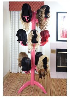Wig Chateau   Premium Wig Display And Storage System | Prefundia Coming  Soon Page