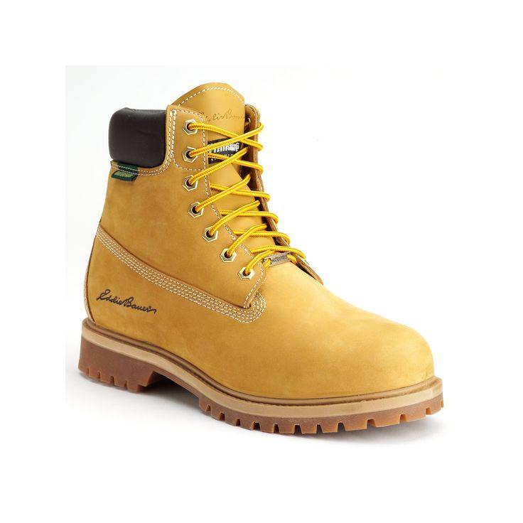 Eddie Bauer Rick Men's Hiking Boots, Size: medium (13), Lt Beige, Durable