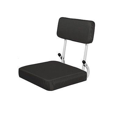 Padded Stadium Chair Cushion Bleacher Seat Folding