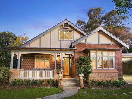 37 best Californian Bungalow facades images on Pinterest