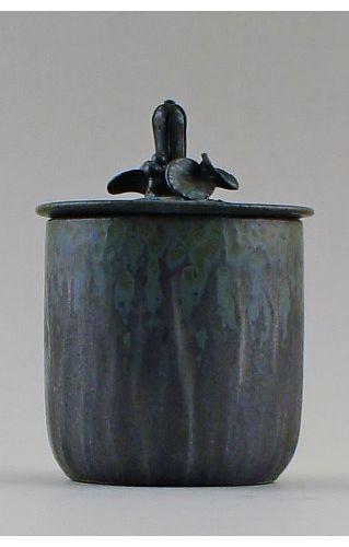 Arne Bang Pottery Vase with Lid Unstamped | eBay