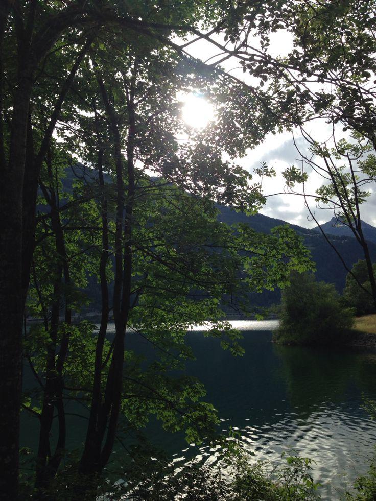 Lago di Poschiavo Svizzera