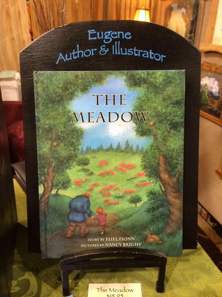 Children's book written by Eliel Fionn and illustrated by Nancy Bright, available at Nancy's booth