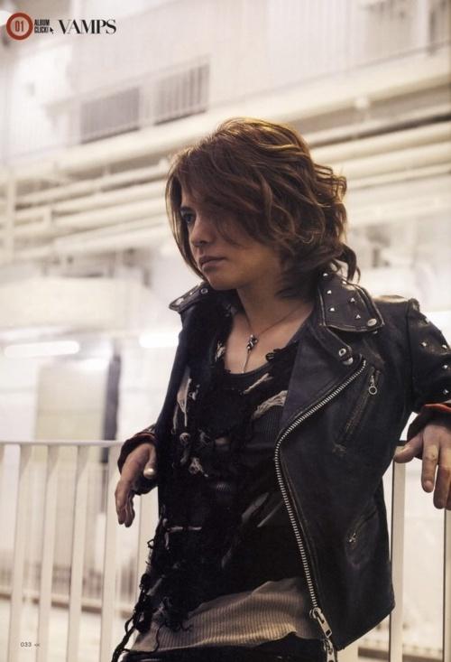 Hyde the singer of Vamps former singer for La Arc En' Ciel