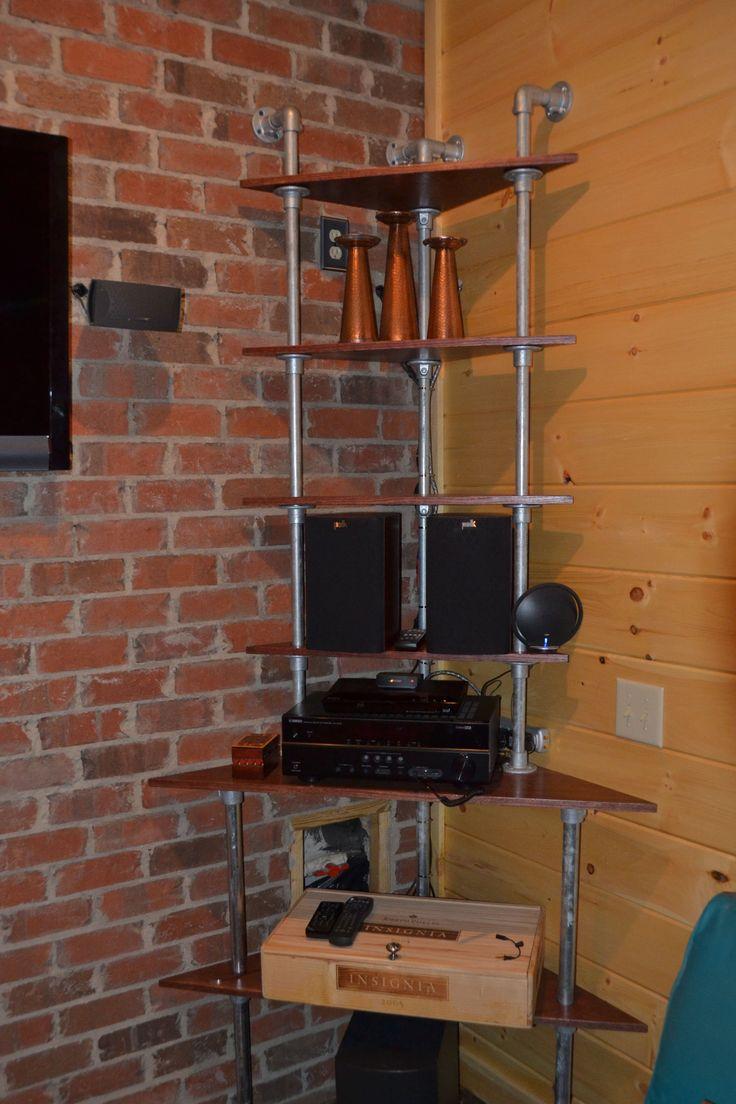 best  wall mounted corner shelves ideas on pinterest  corner  - wall mounted corner shelf