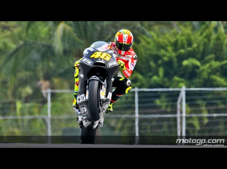 Rossi.....wheelie testing