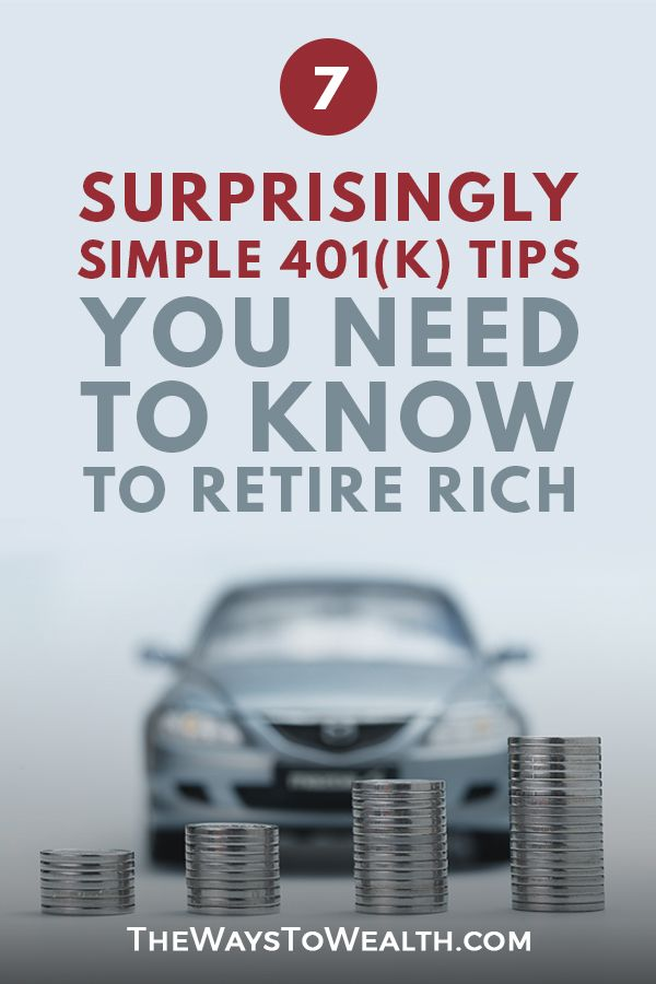 7 Surprisingly Simple Ways To Improve Your 401 K Today