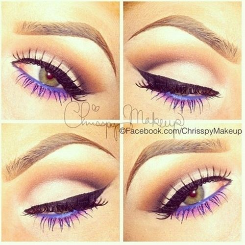 Under-eye punch - Click image to find more makeup posts