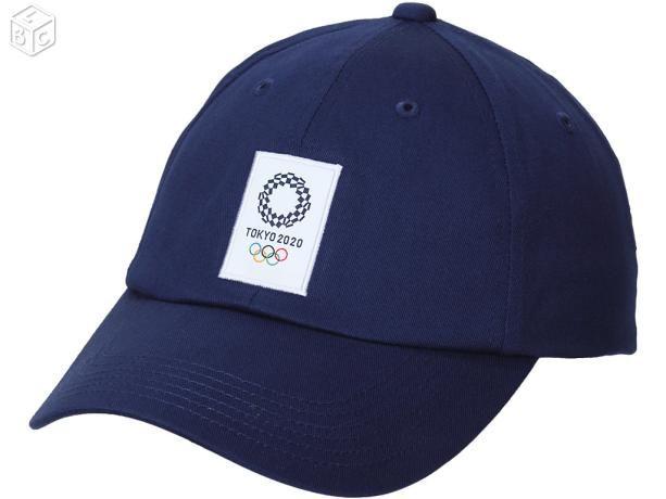 Casquette bleue Asics jeux olympiques Tokyo 2020
