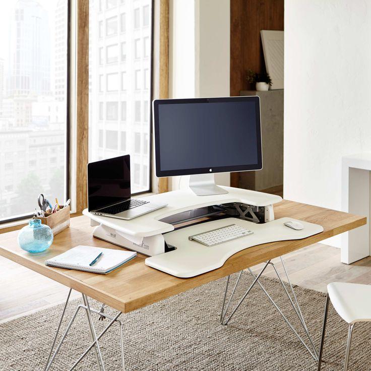 Standing Desk White Pro Plus 36. Office DesksHome ...