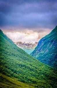 Mountains of Lærdal, Norway.