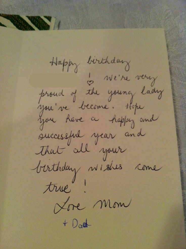 Damnit Dad you only had one thing to write – Funny Stuff to Write in Birthday Cards