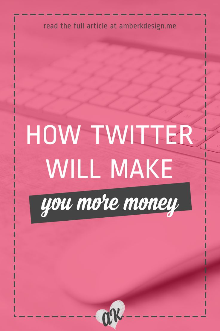 Twitter is an amazing tool and can be used to make you money. Are you using it to it's fullest potential?