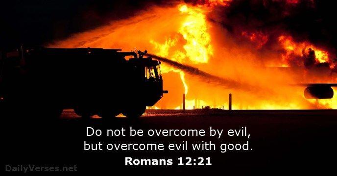 Romans 12 King James Version | Romans 12:21 - Bible verse of the day - DailyVerses.net