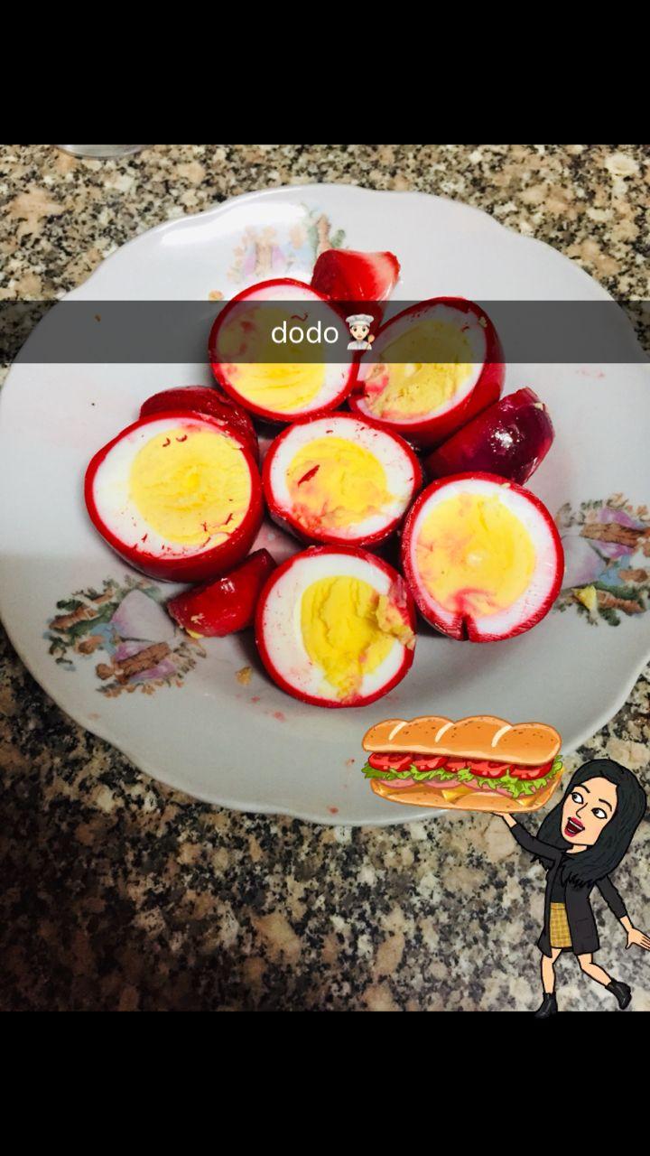 بيض مخلل بريطانيه Food Avocado Egg Breakfast