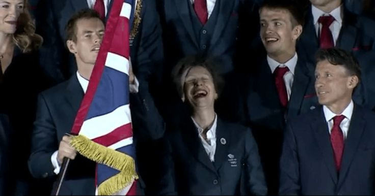 Princess Anne was nearly the victim of a right royal headache after Team GB flag-bearer Andy Murray struggled with his flag-bearing duties during a photoshoot. The world number 2 tennis player had …