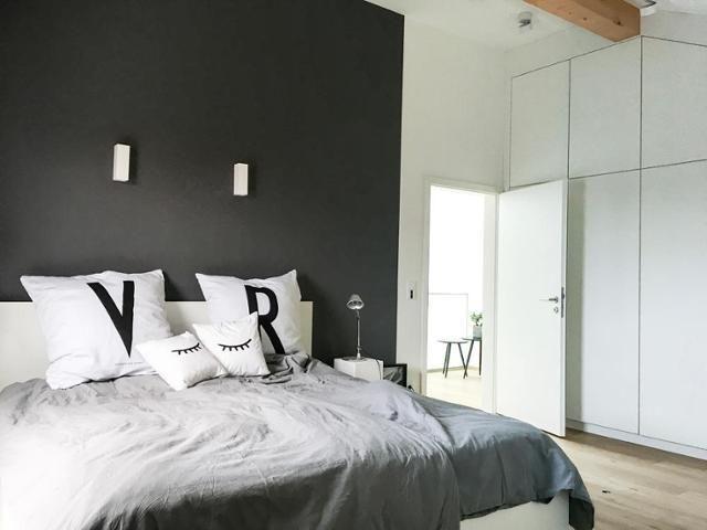 Die besten 25+ Dunkle schlafzimmer Ideen auf Pinterest schwarze - feng shui spiegel im schlafzimmer