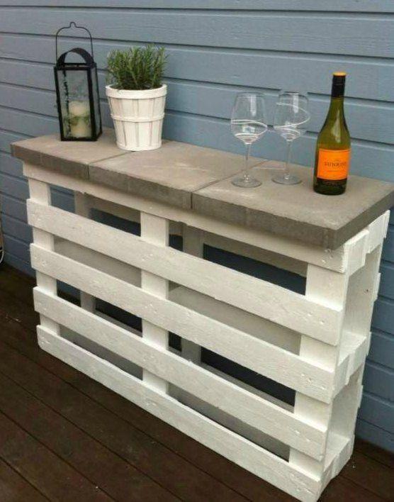 """Så let kan du lave et højt afsætnings-""""bar""""bord… (Tina Dalbøges kreative påfund)"""