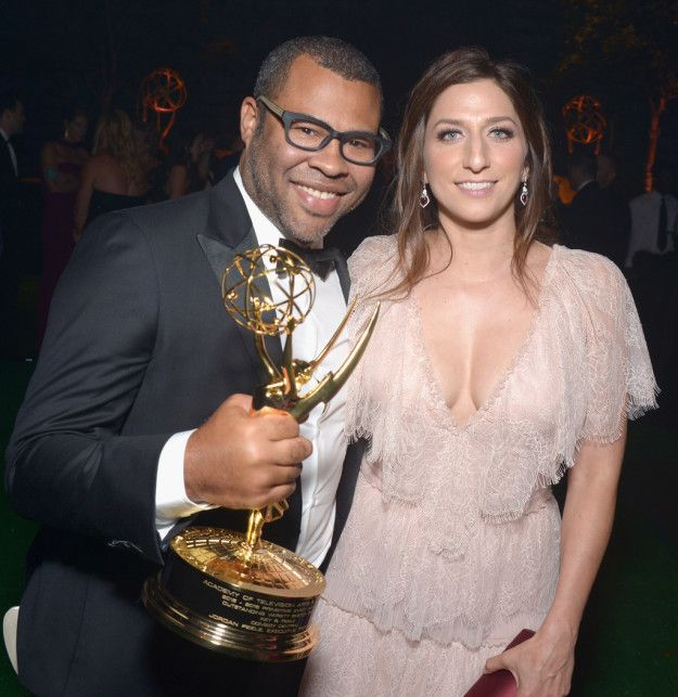 Jordan Peele and Chelsea Peretti | 38 Celebrity Couples That Got Married This Year
