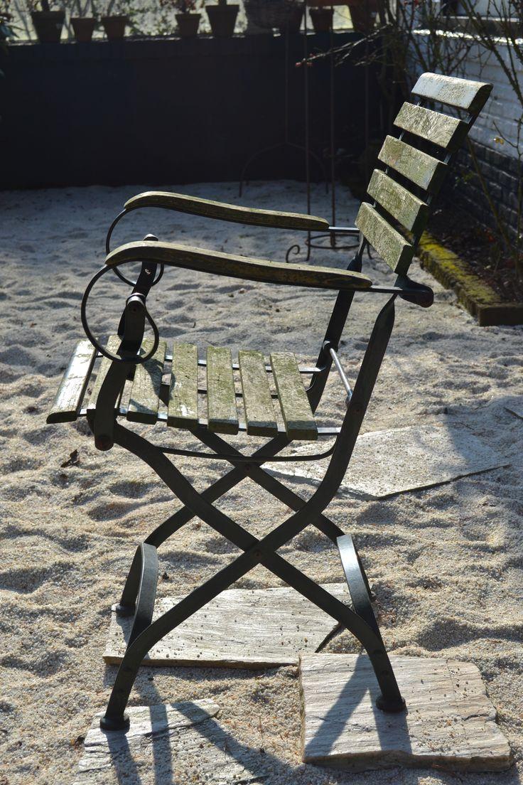 Set van 4 zulke stoelen. Verkocht