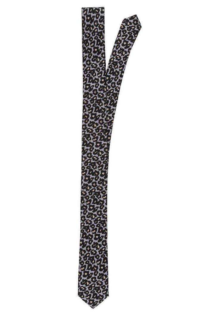 DRYKORN. TIE SLIM LEOPARD - Krawatte - leo. Breite:5 cm bei Größe One Size. Material Oberstoff:100% Seide. Pflegehinweise:chemische Reinigung. Länge:146 cm bei Größe One Size. Muster:animal print