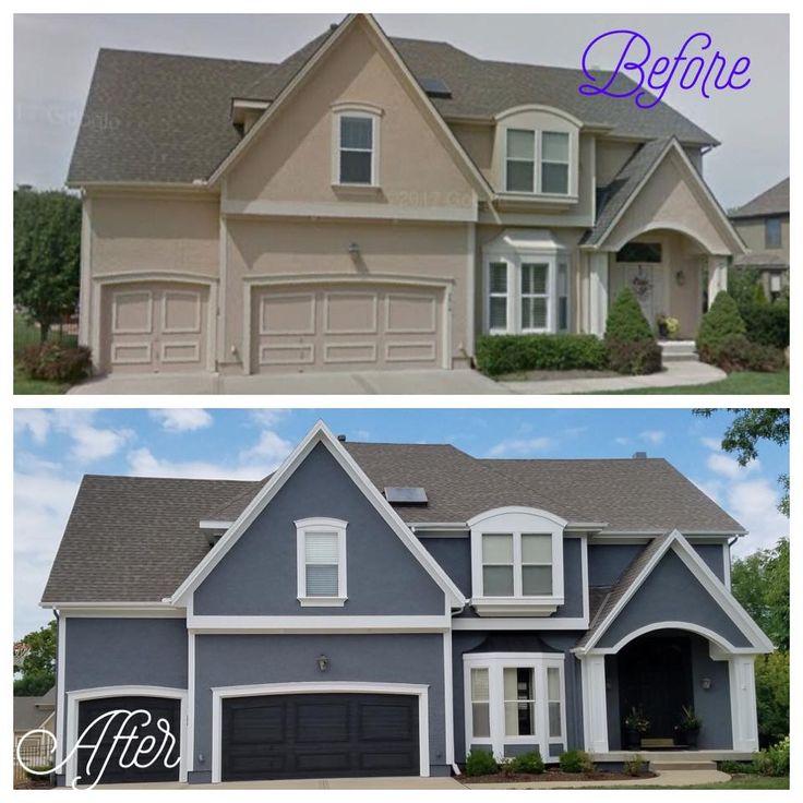 Unique Home Exterior Design: Transformation By Unique Painting KC