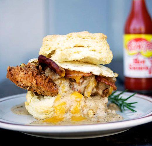 Lunch Inspiration: Chicken Biscuits - FirstWeFeast.com