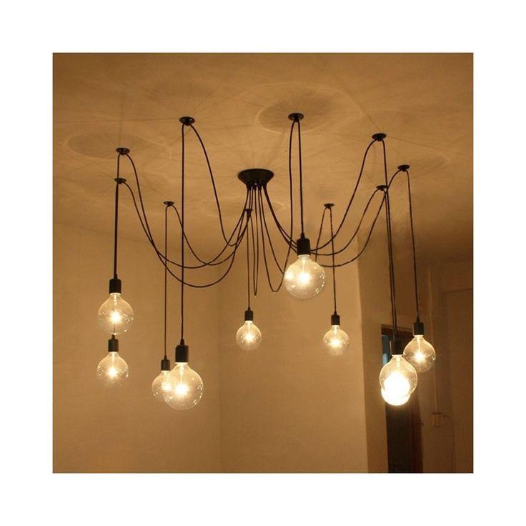 ペンダントライト 北欧照明 天井照明 カントリー 8灯