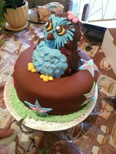 Owl cake hehe aka stefania ♡ ♡ nailed it
