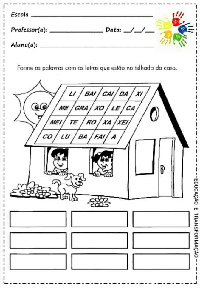 Ideia Por Fatima Pires Em Projecto Era Uma Casa Atividades