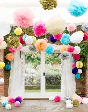 John Lewis Vintage Wedding Theme - love the colors