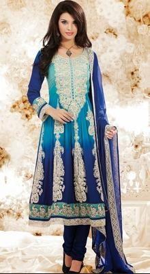 Alluring Cyan Blue