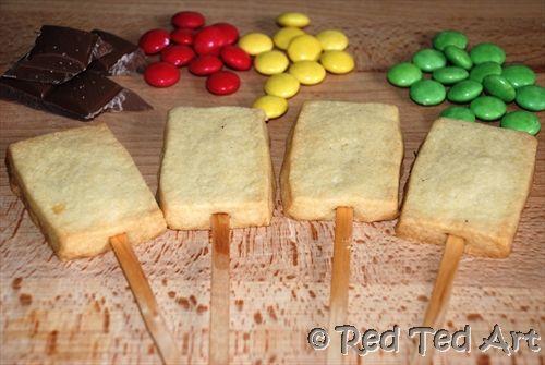 Traffic light cookies