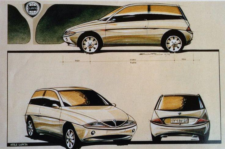 LANCIA Y (1994-2002) #lanciaY #lancia #LanciaYpsilon #ypsilon #EnricoFumia #cardesign