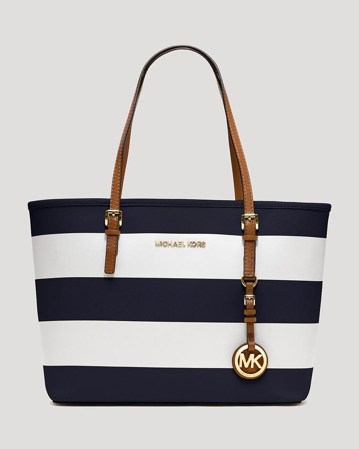 Navy Michael Kors Bag