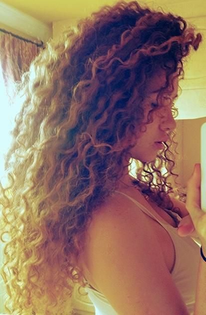 Curly. Natures Hair Conditioning Treatments are just that, chemical free, natural, great for up-dos and protective styling, for healthy soft nutrient filled hair and scalp, promotes growth and length. http://www.bareindulgence.NET